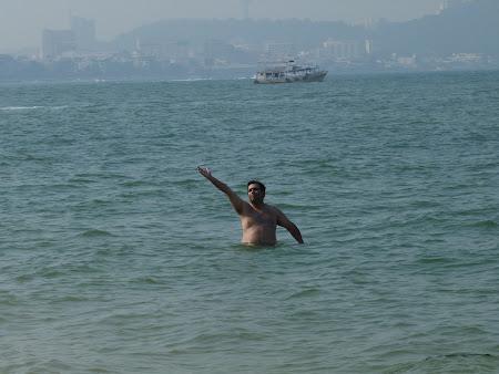 Vacanta Thailanda: marea la Pattaya