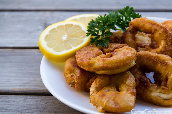 Calamares a la Romana Sin Gluten - Receta paso a paso