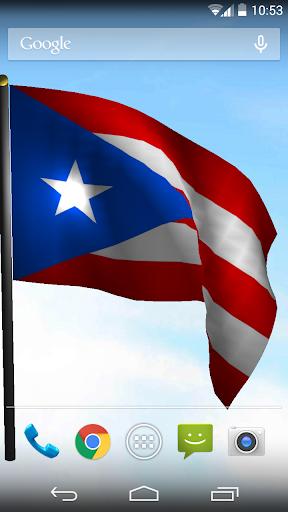 Puerto Rico Flag LiveWallPaper