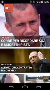Rainews- screenshot thumbnail