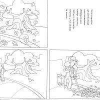 Cuaderno De Dibujos Para Colorear Escenas Para Niños