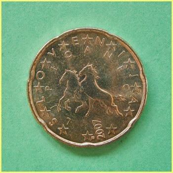 Eslovei¡nia 0.20 Euros