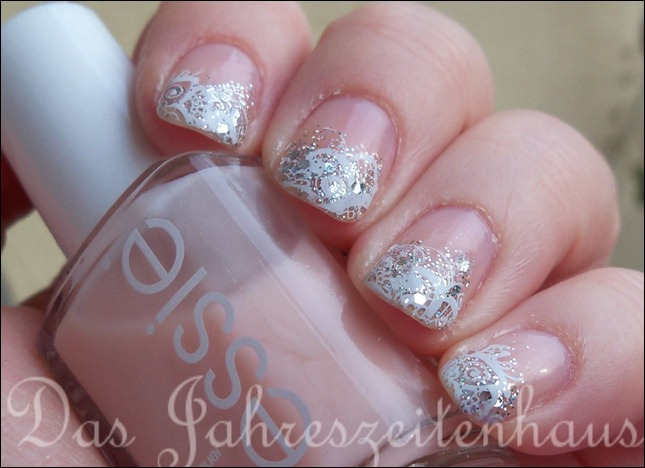 Schnee Winter Nageldesign 3