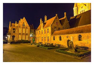 Innenhof des Sint-Jans-Spital in Brügge