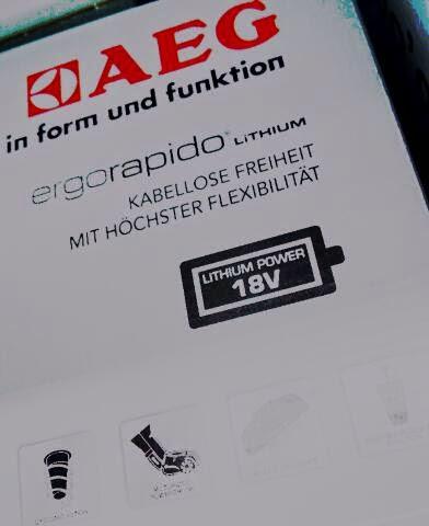 produktinfo und test aeg ergorapido akku bodenstaubsauger. Black Bedroom Furniture Sets. Home Design Ideas