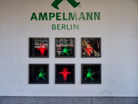 Obiective turistice Berlin: Simboluri semafoare