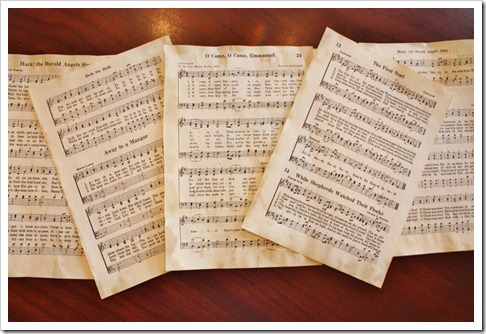 Glue Sheet Music