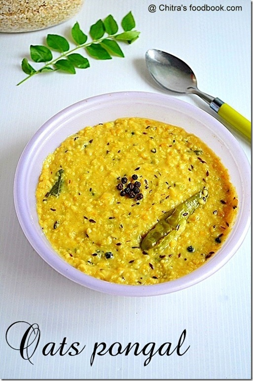instant oats pongal