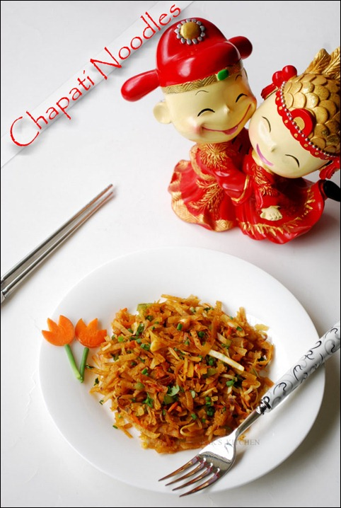 Chapathi noodles1