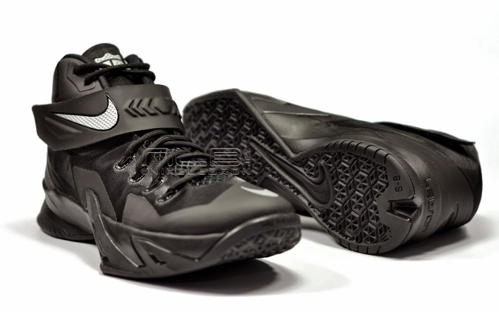 best service 02f52 f3306 ... 8220Blackout8221 The Showcase Nike Zoom LeBron Soldier 8 VIII  8220Blackout8221 ...