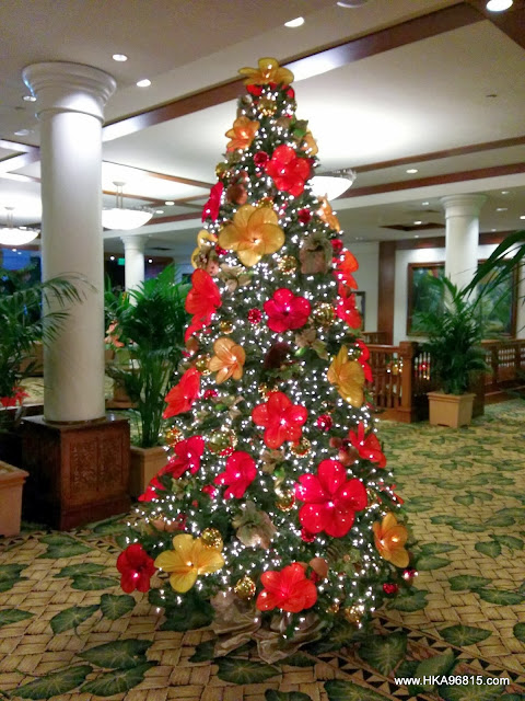 Outrigger Waikiki Christmas Tree 2013