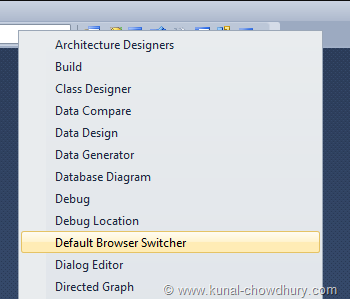Right Click and Add the Toolbar from the Context Menu