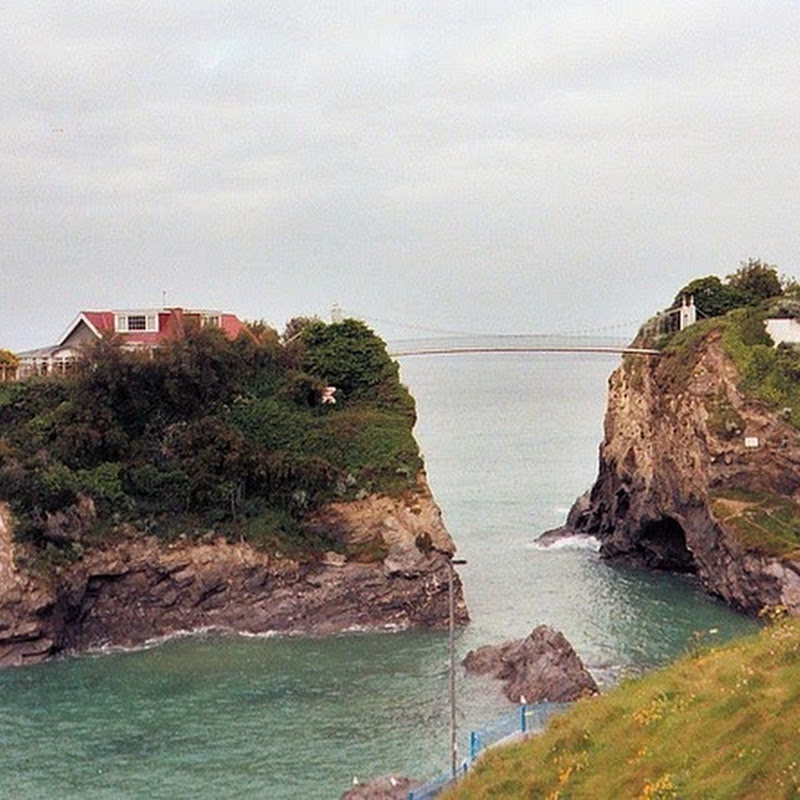 The House on Towan Island, Newquay