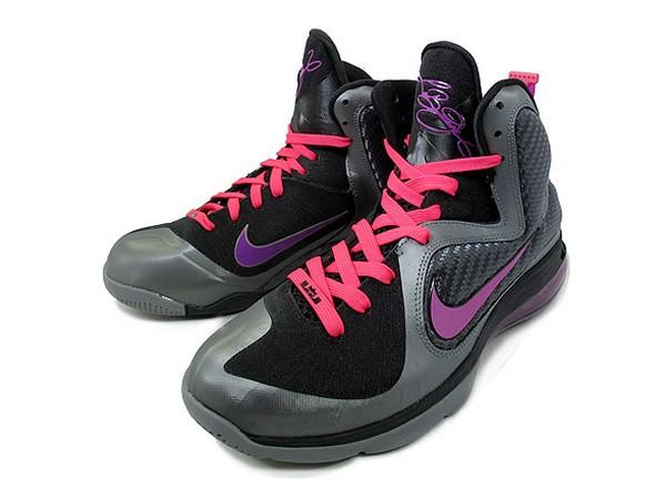 4b58bf12a30c ... Nike LeBron 9 8220Miami Nights8221 Couple New Pics w Tee ...