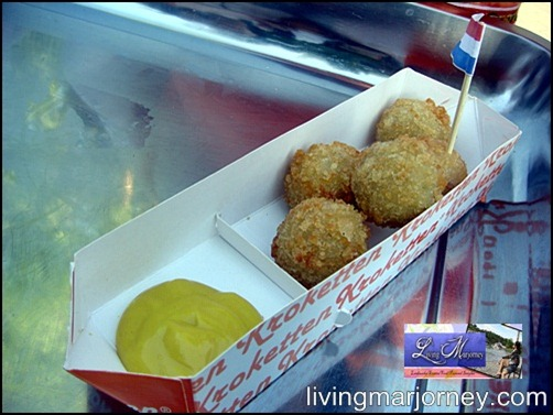 Netherland's favorite snack Kroketten now in the Philippines
