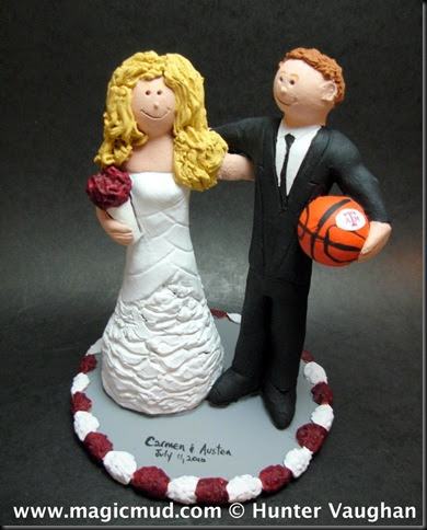 m s wedding cake toppers custom wedding cake toppers a amp m aggies wedding cake 17647