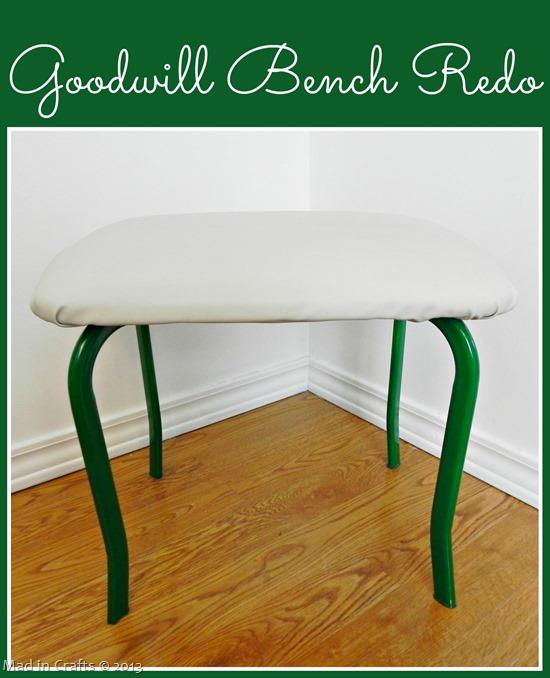 Goodwill Bench Redo