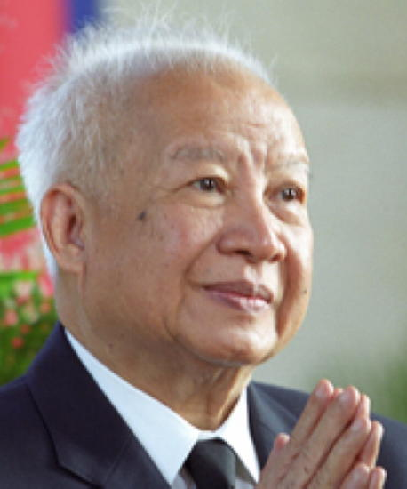 King Norodom Sihanouk passes away October 15th 2012