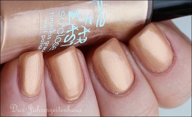 P2 Far east So close LE 010 Golden Amber Nagellack 4