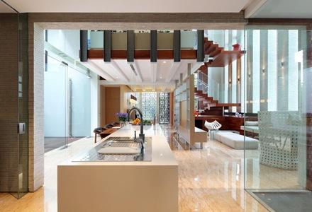 diseño-interior-cocina-moderna-casa-contemporanea