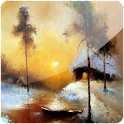 3D Winter Oil Painting (PRO) logo