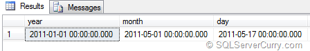 SQL Server Floor DateTime