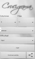 Screenshot of Crosswords spanish