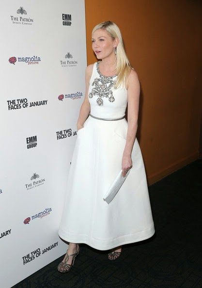 Kirsten Dunst Two Faces January Premiere