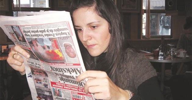 Bojana Danilovic, the woman who sees the world upside down