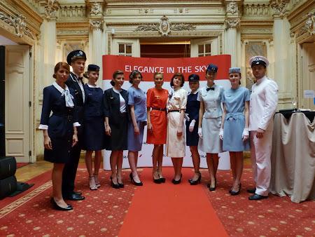 8. Parada modele Air France.JPG