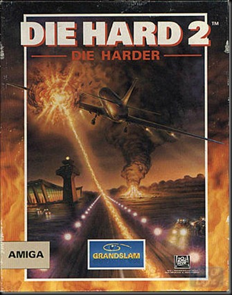 Die hard2 box Amiga version