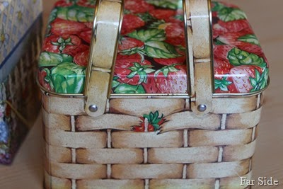 Strawberry Basket Recipe box