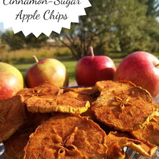 Cinnamon-Sugar Apple Chips