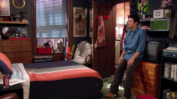 quarto do Ted Mosby