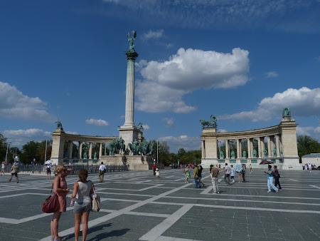 Spa Budapesta: Piata Eroilor Budapesta