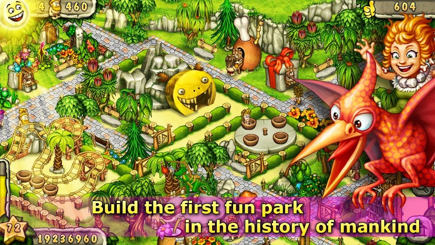 Screenshot 1 Prehistoric Park Builder