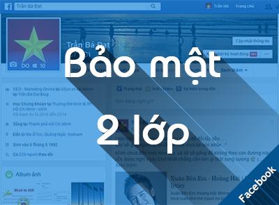 Hướng dẫn bật bảo mật 2 lớp cho tài khoản Facebook