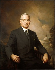 harry truman official portrait