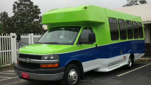 Their new transportation bus, purchased with Donations to CARE