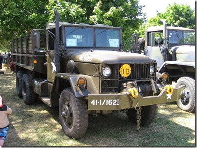 PlacesPages: Military Vehicles at the 2010 Great Oregon Steam-Up