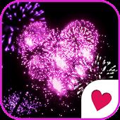 Cute wallpaper★Pinky fireworks
