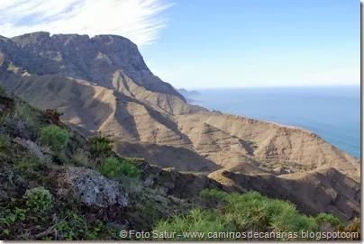 7268 Puerto Las Nieves-Barranco Oscuro(Roque Faneque)