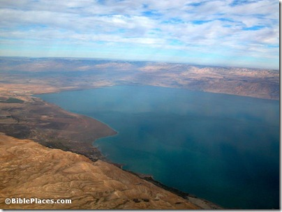 Dead Sea northern end aerial from west, tb010703242