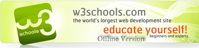 w3schools offline version