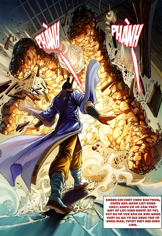 Anh Hùng Xạ Điêu anh hùng xạ đêu chap 61: thất tử chiến thiết thi trang 32
