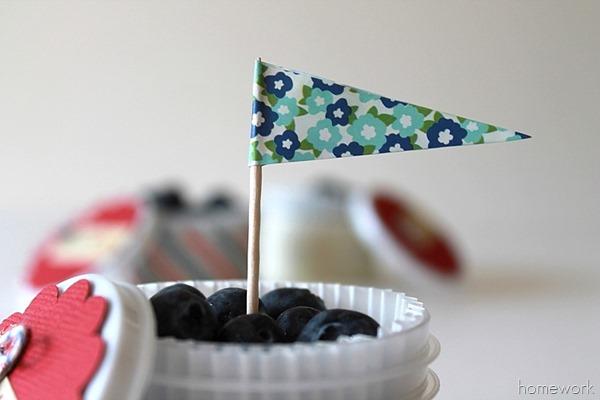 Easy Patriotic Berry Cups via homework06