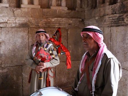 Muzica militara iordaniana.