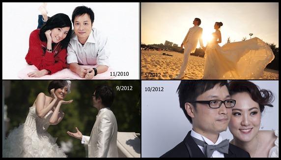 拍婚照的二三事(1)--四套婚照?
