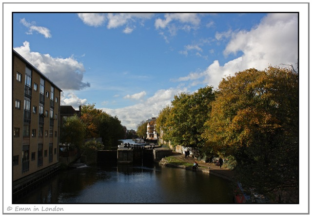 Regents Canal in Hackney
