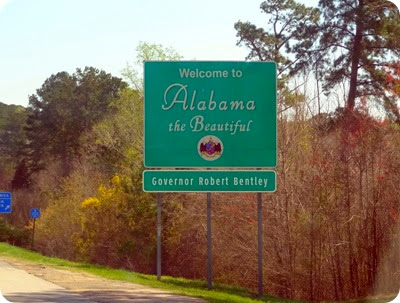 Alabama sign